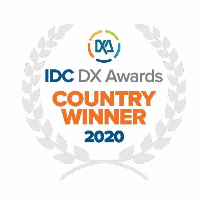 IDC DX Awards Winner